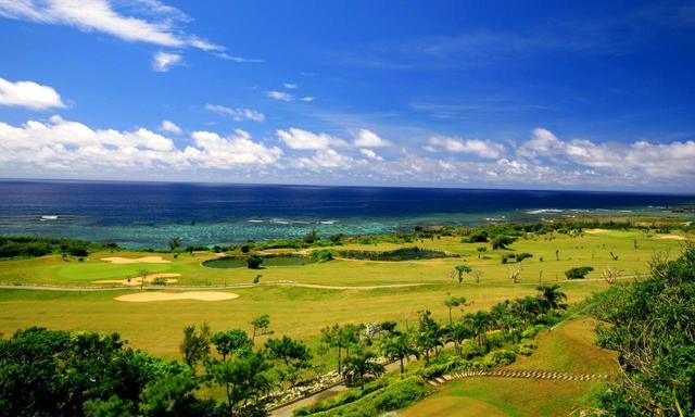 画像: シギラベイカントリークラブ 全ホールから碧い海の眺め (18ホール 6250Y P71)