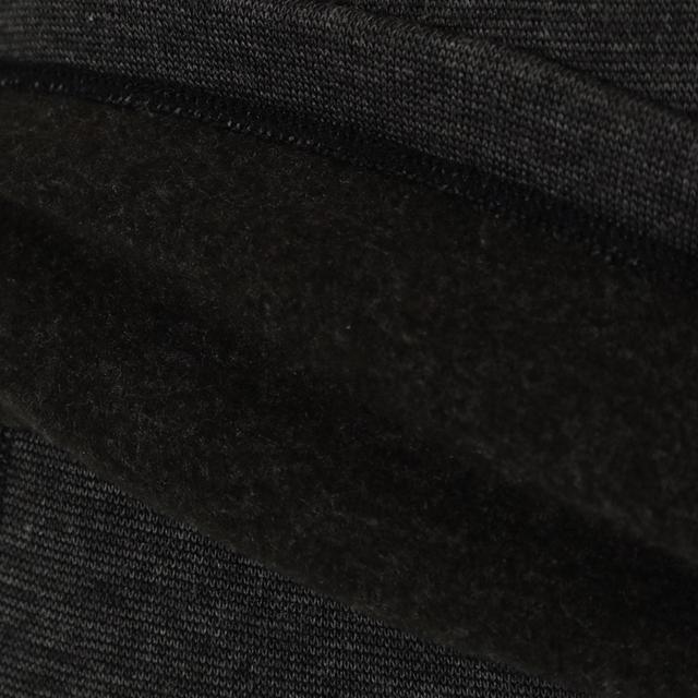 画像: 裏起毛が暖かい空気を逃さず、最適な温度を持続。ムレを抑えた爽やかな着心地