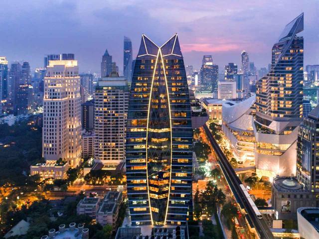 画像: デラックスホテルなら安心の日系、オークラ プレステージ バンコク(外観)