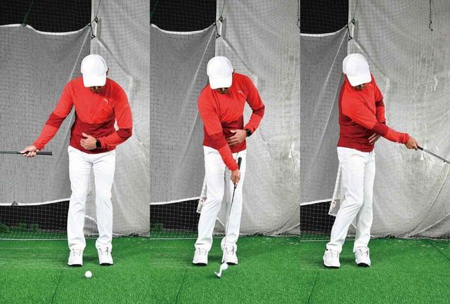 画像: 体の回転で打つ動きが身に付きます
