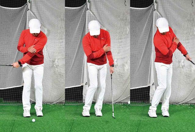 画像: 最初は右手で左手を抑えながら練習しましょう
