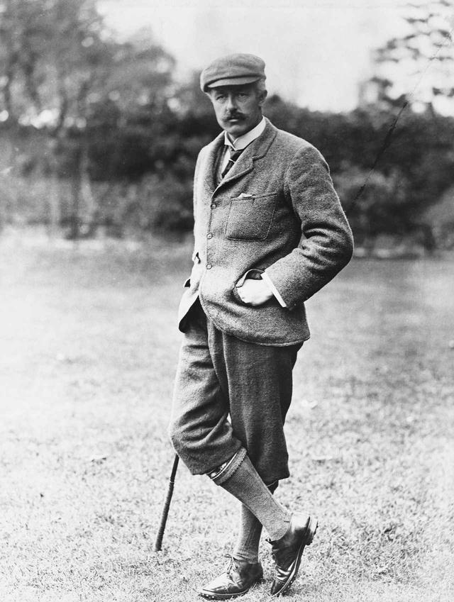 画像: ホレイス・ハッチンソン ※イングランドで初めてR&Aのキャプテンに就任。1886年、87年に全英アマを連覇