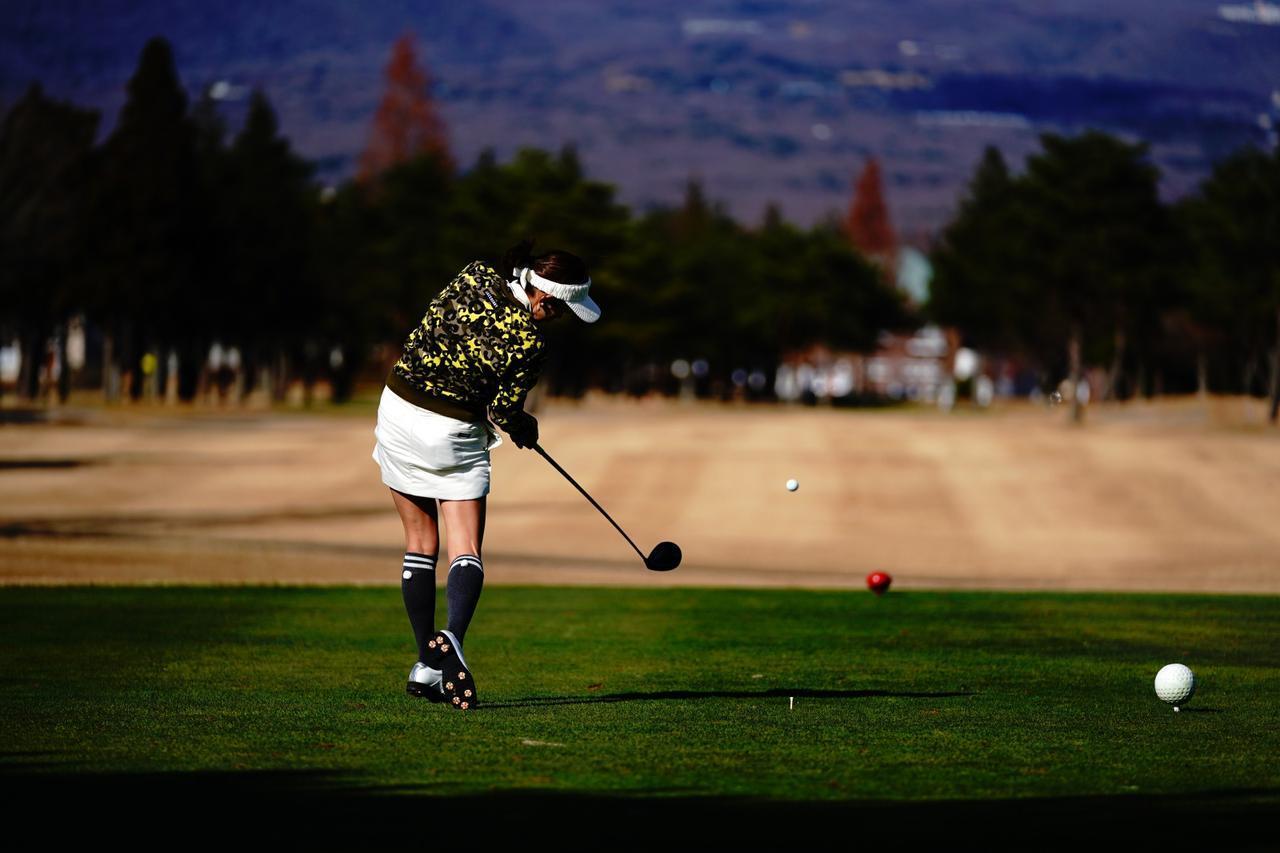 画像4: 【栃木・25那須ゴルフガーデン】謎のストライプが9番フェアウェイに出現! ドライバー飛距離計測チャレンジホール。ウェルネスの森 那須。GOLULUチェック⑦