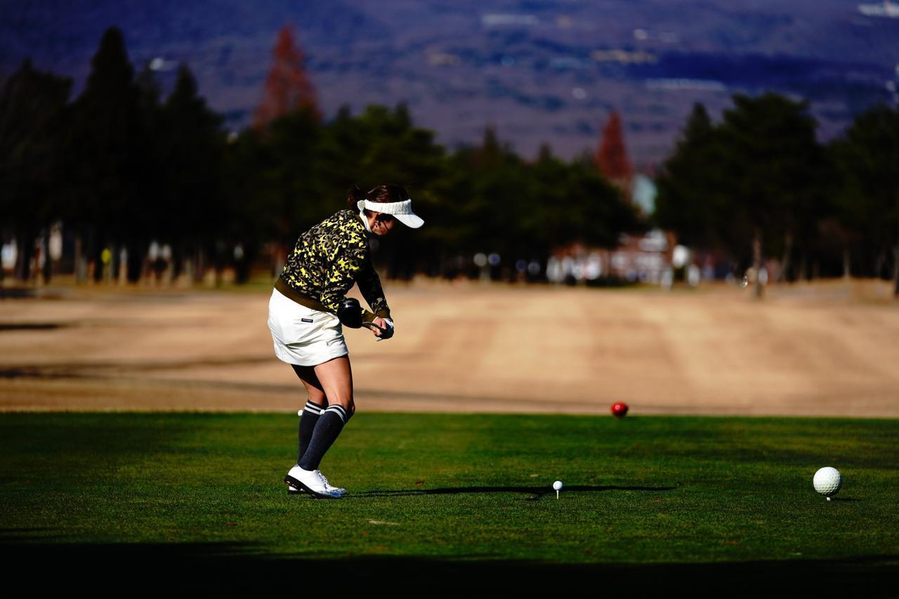画像3: 【栃木・25那須ゴルフガーデン】謎のストライプが9番フェアウェイに出現! ドライバー飛距離計測チャレンジホール。ウェルネスの森 那須。GOLULUチェック⑦