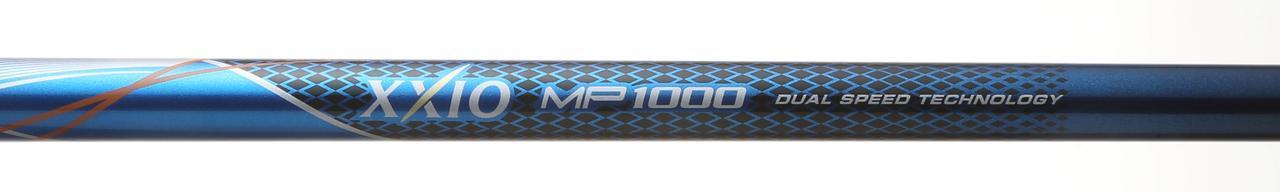 画像: たわみを大きくして、体にかかる力を抑え、軌道を安定。打点のバラつきを抑える軽量シャフト「XXIO MP1000」が標準