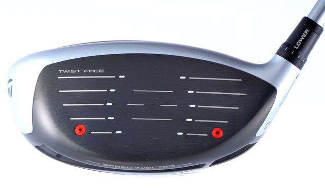画像: 左右の赤い部分が「スピードインジェクション」。反発性能をチューニング