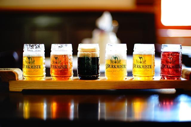 画像: 種類豊富なチェコビールを飲み比べ