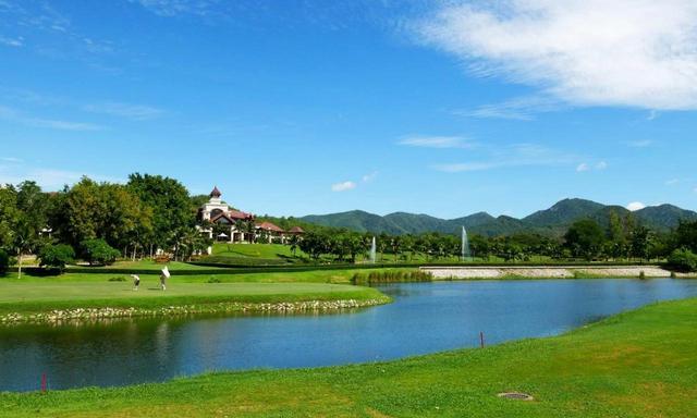 画像: ワングリーンの芝はハイブリッドバミューダ