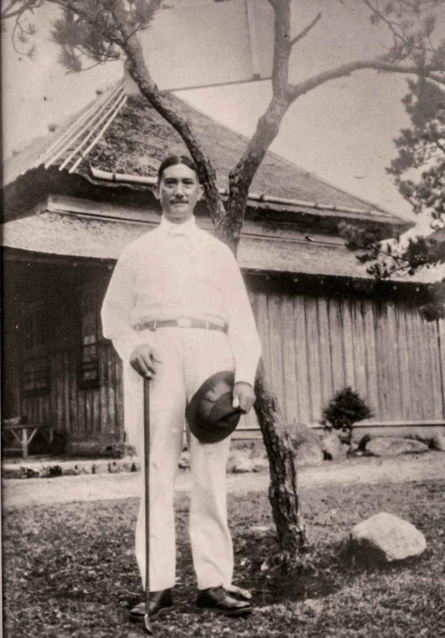画像: 雲仙ゴルフ場の設立に尽力したトーマス・グラバーの息子、倉場富三郎