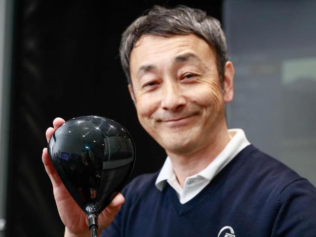画像: 「E」は投影面積が大きく安心感のある大きさ。シャローバックで球も上がりやすい
