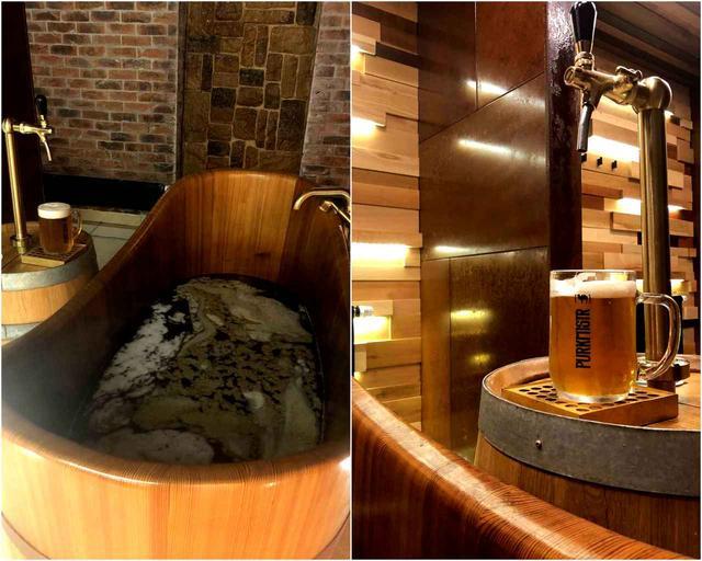 画像: 個室でゆっくりと「ビールスパ」を堪能して、サーバーからセルフでビール飲み放題