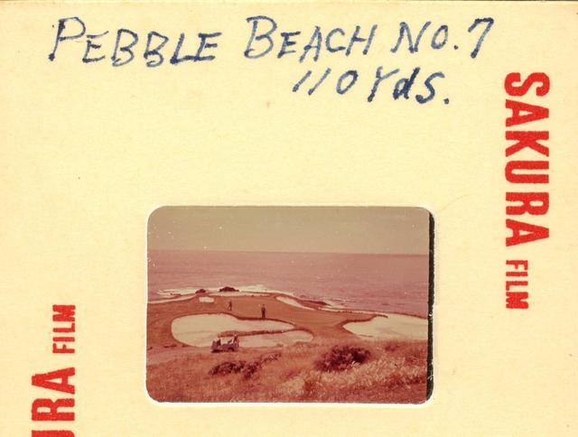 画像: ペブルビーチGLの17番パー3