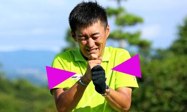 画像: 飛ばしたいと思うと手に力が入ってしまいがち。「飛ばしの大敵ですよ」(今泉)