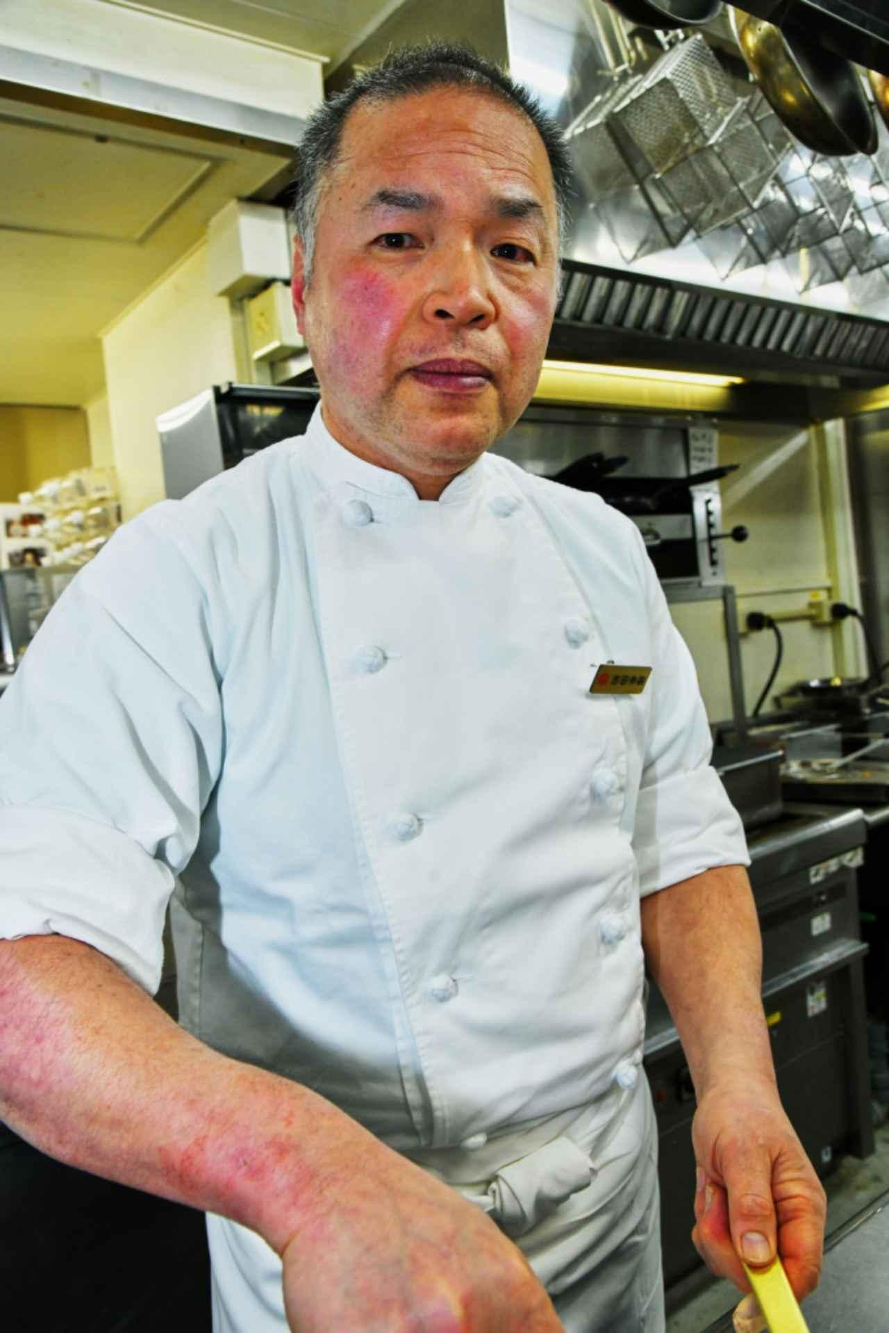 画像: 料理長の吉田伸嗣さん