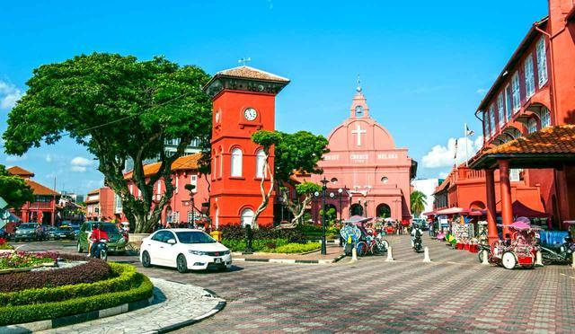 画像: 歴史の街マラッカと2つの名コース