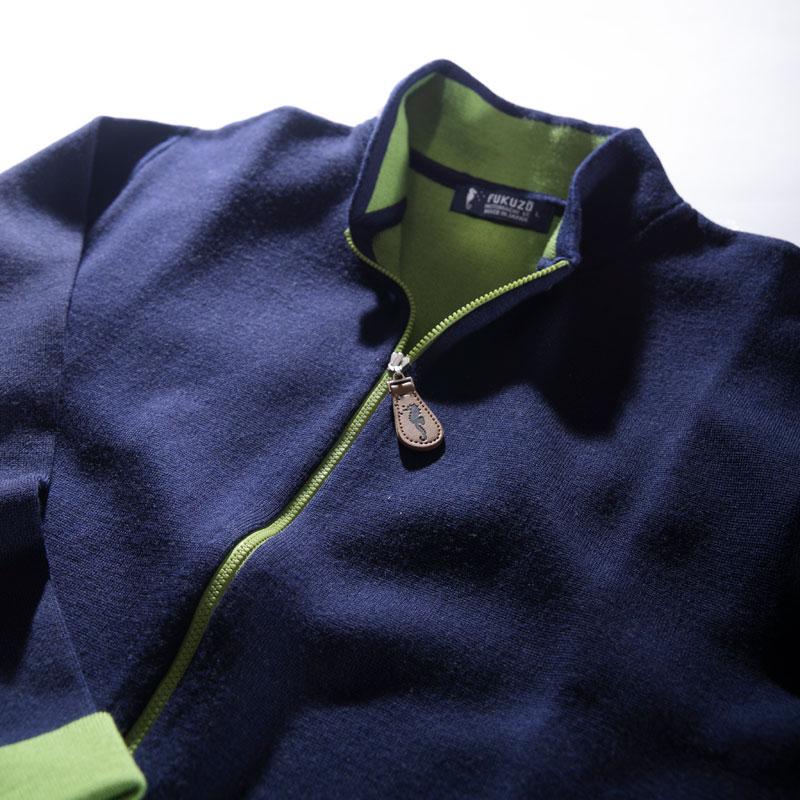 画像: 【ハマトラ再燃!】FUKUZO タツジャガードジップカーディガン-ゴルフダイジェスト公式通販サイト「ゴルフポケット」