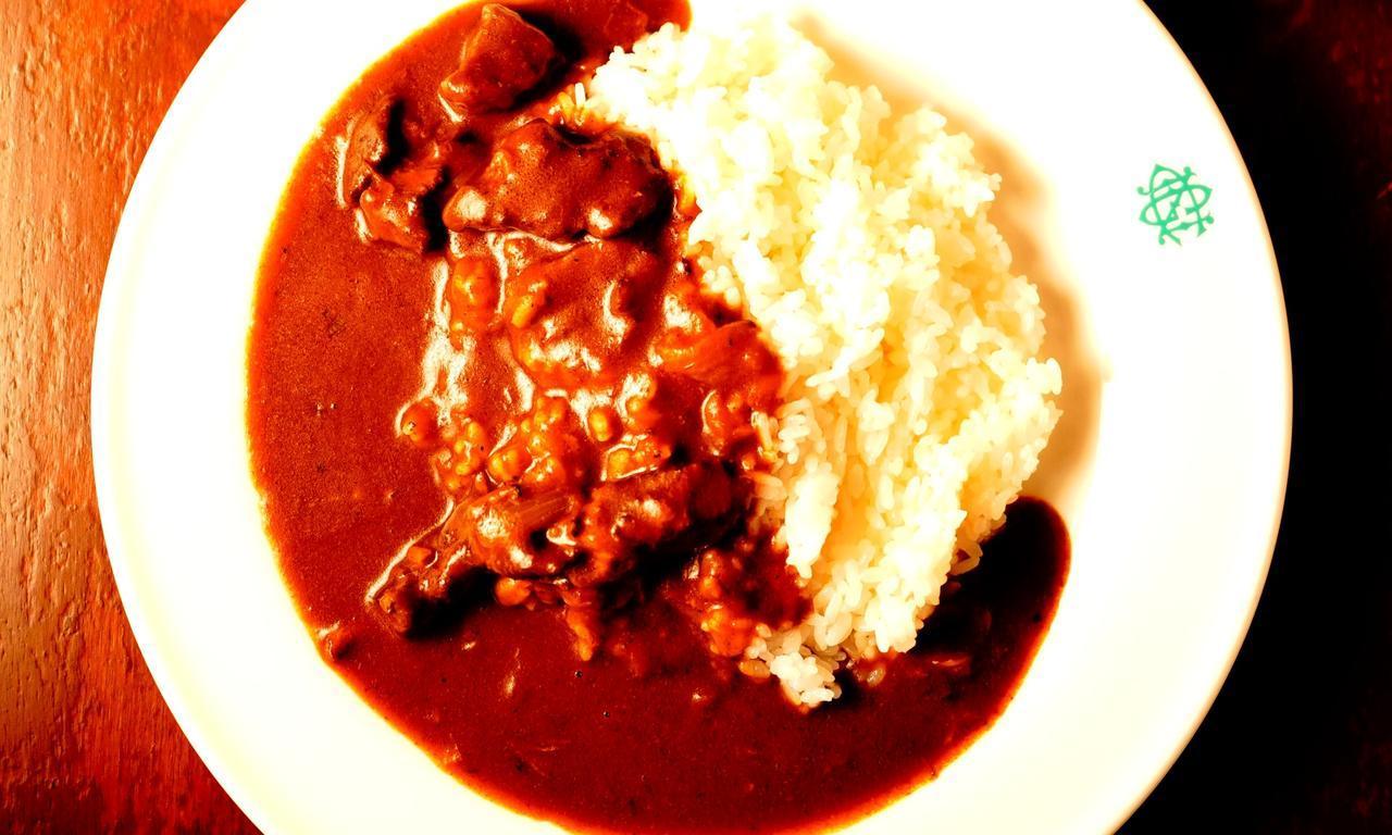 画像: 伝統の味「ビーフカレーライス」