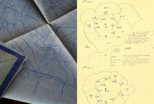 画像: 左が井上の設計図、右がアリソンのもの