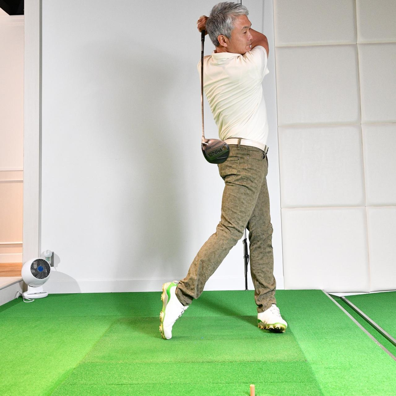 画像5: 【ドライバー】出球が安定しないのは「胸の向き」に問題アリ。腕と体の同調を直レッスン!