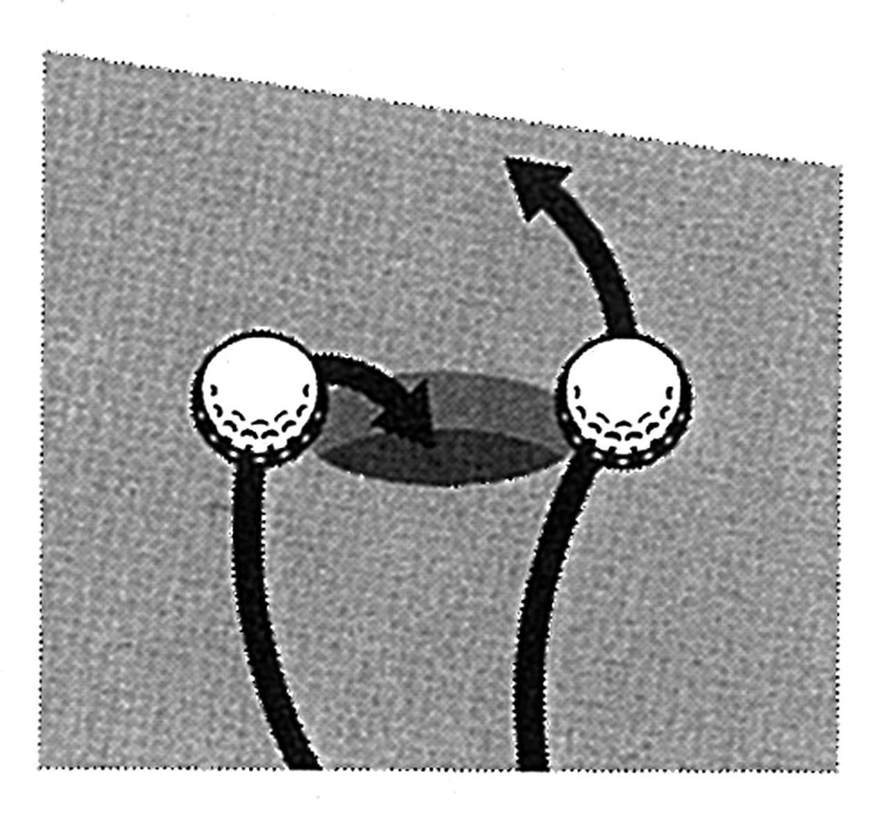 画像2: ボールを目で追うと情報が蓄積されていく