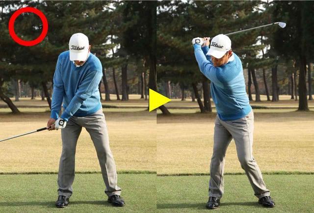 画像: レートコックで肩を最初に動かす始動を心がけましょう。