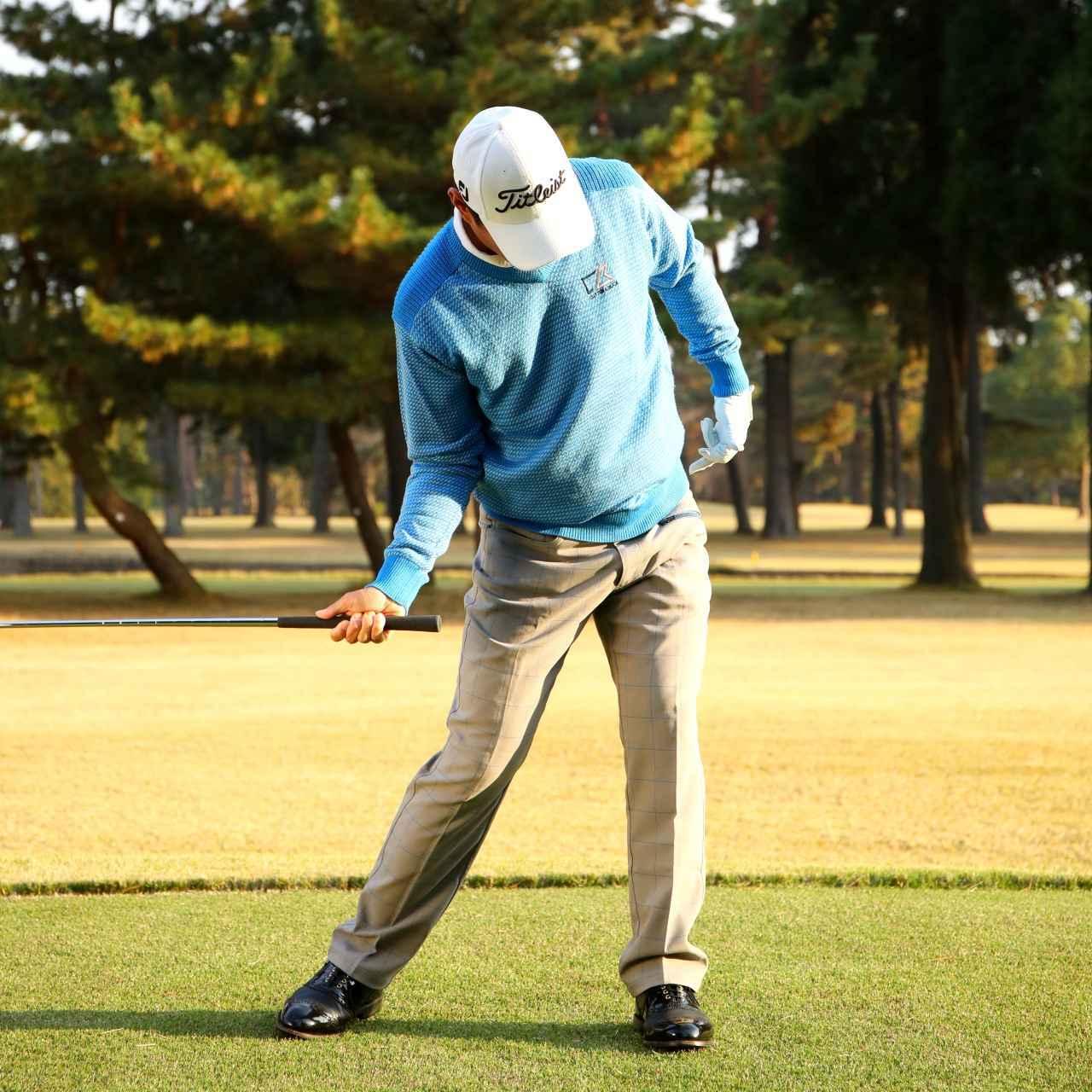画像: 左の股関節に乗りつつ、体を回しましょう