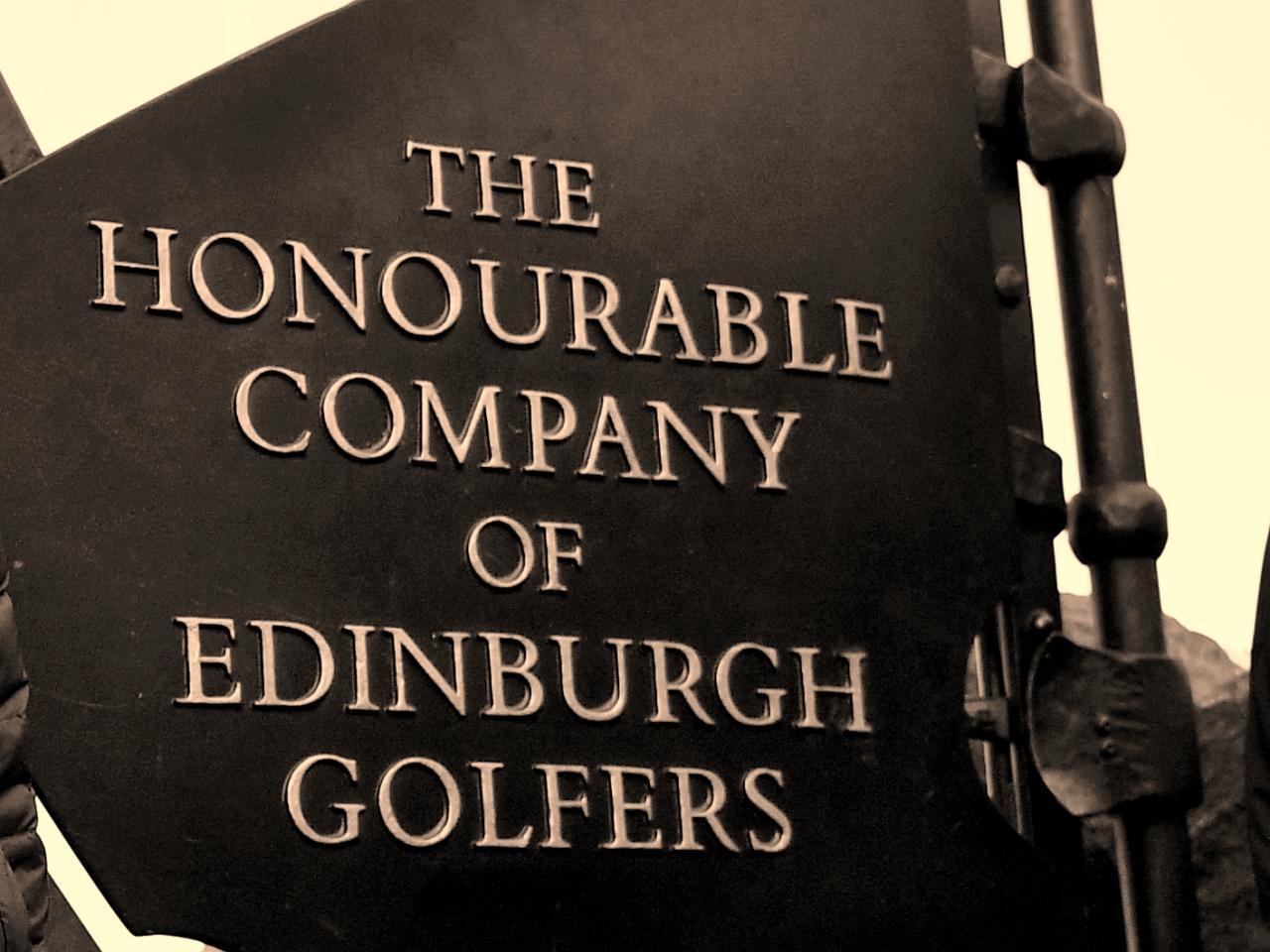 画像: 世界最古のゴルフクラブ。「伝統あるゴルフの名士たちの名誉ある会」の意
