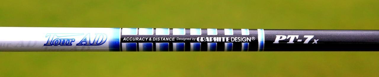 画像: シャフトは使い慣れた「ツアーAD PT7X」