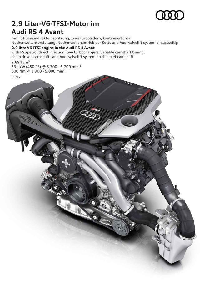 画像: 2.9L V6ツインターボエンジンは最高出力450ps、最大トルク600Nmを発揮