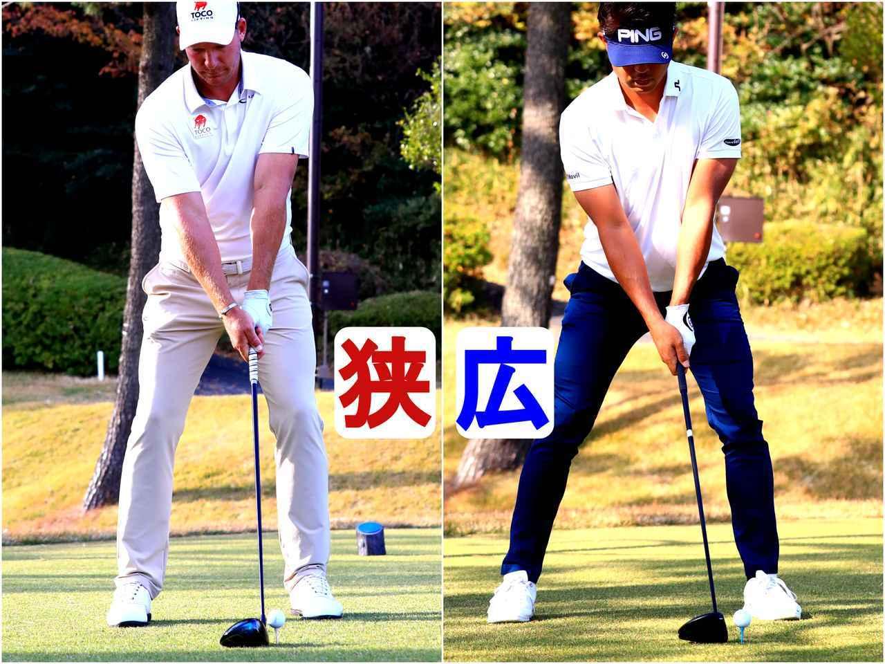 画像: S・ノリス(左)、額賀辰徳(右)