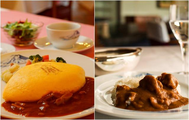 画像: 川奈のクラブハウスグルメと言えば、オムライスとカレーライス。夜はホテルでフレンチディナーです
