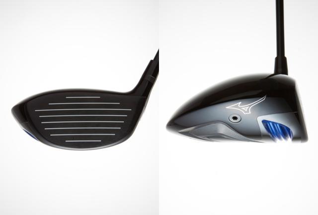 画像: モデルEは、ボールが上がりやすいシャローバック形状