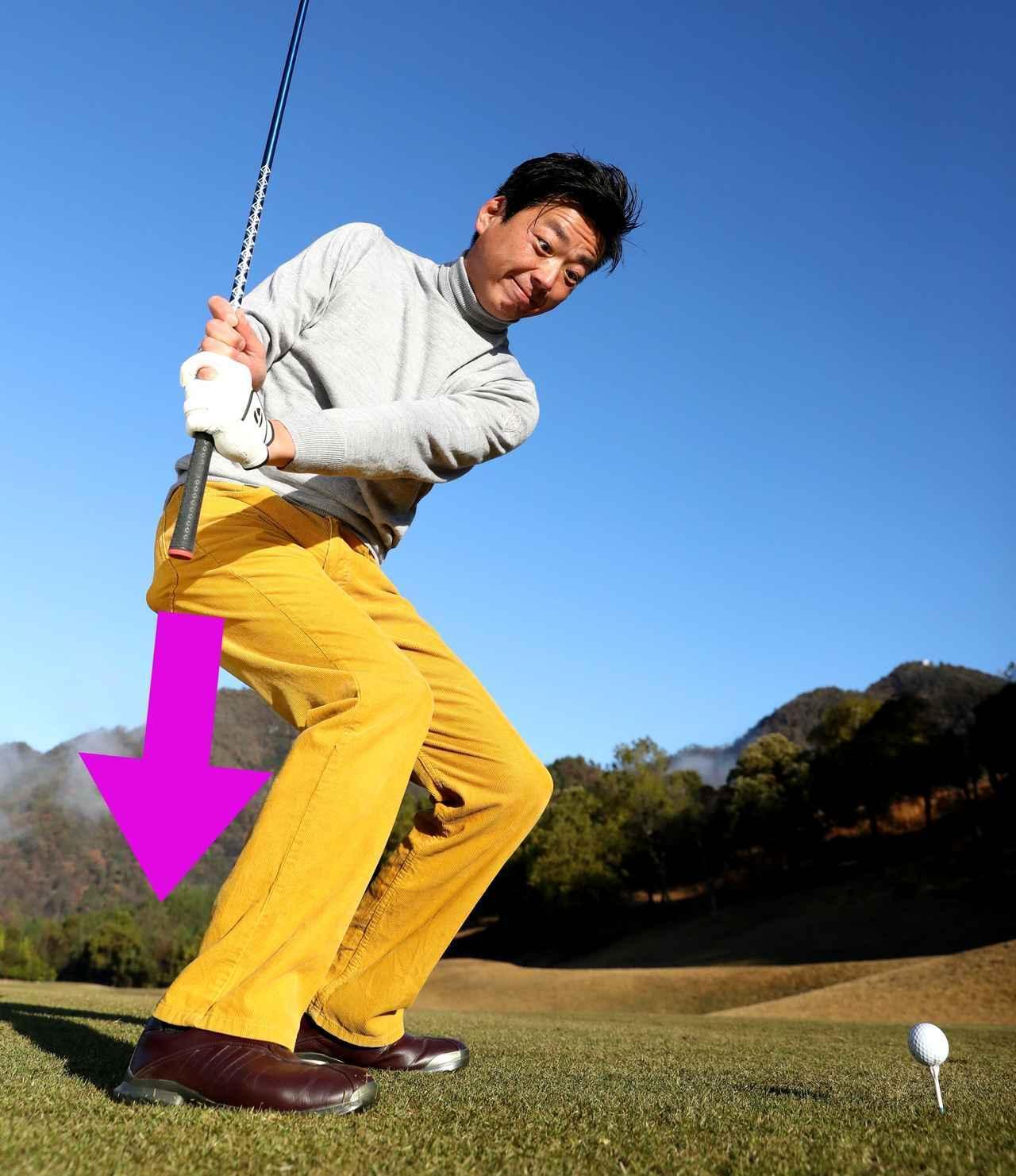 画像: 【飛ばし】あと20ヤード! レッスン名人・武市悦宏プロに聞く。「切り返しでグリップエンドを右足かかとへズドン!」 - ゴルフへ行こうWEB by ゴルフダイジェスト