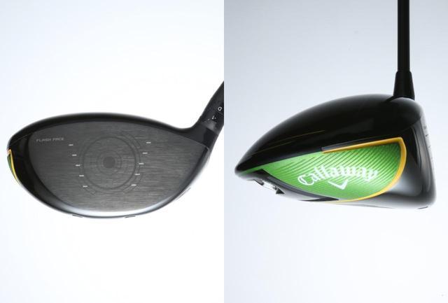 画像: フラッシュシリーズはすべて、より軽量化されたトライアクシャル・カーボンクラウンの複合ヘッド