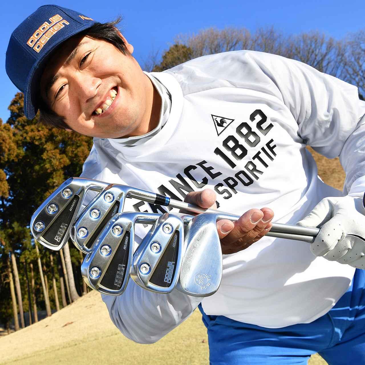 画像: 【転がし名人】鈴木直哉さん (34歳/ゴルフ歴7年/HC6) 100の壁をやっと越えたあと、たった1年半でベストスコア73に。その要因は「5本使いの転がしアプローチ」にあったという