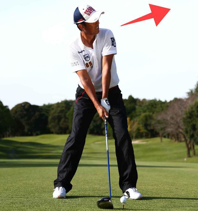 画像1: アッパーに振れば飛ばすことはできる