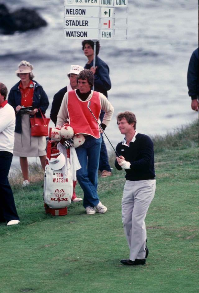 画像: 82年全米オープン3日目のトム・ワトソン