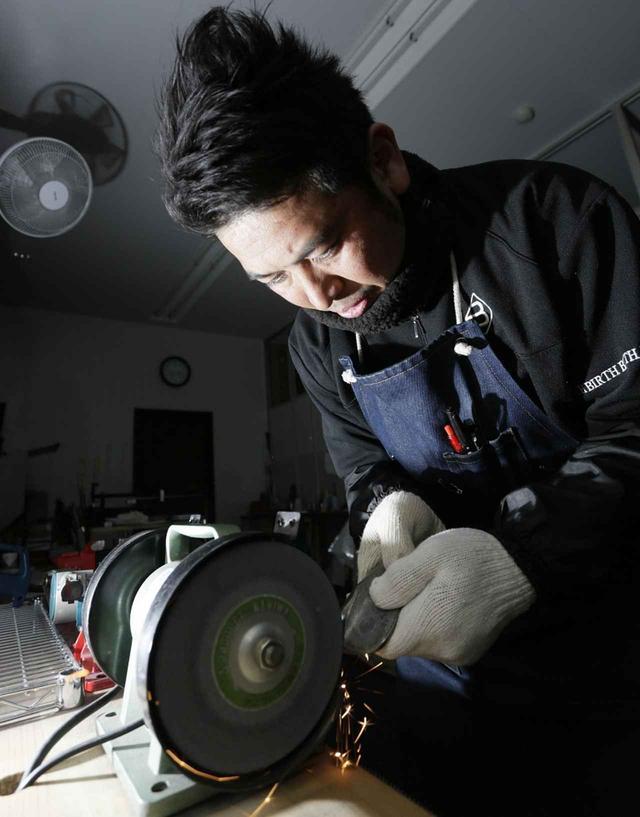 画像: 【アイアン製作】木名瀬和重 トップアマとしても活躍中の腕利きクラフトマン。「クラブ工房キナセ」経営