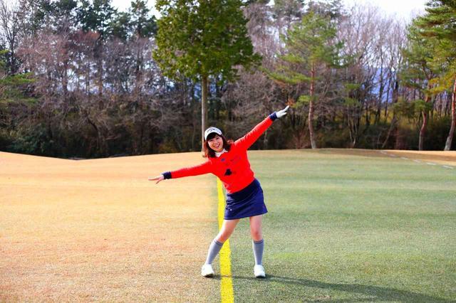 画像: 「左足上がりのゆるやかな打ち上げが続きます」