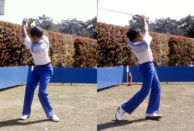画像: 足を使ってリズムをとり、体の正面でボールをとらえる