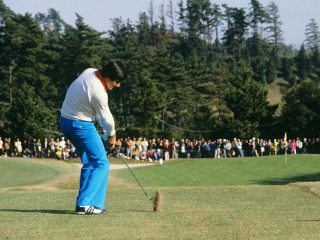 画像: セベ・バレステロス。メジャー5勝、日本オープン2勝。脳腫瘍で54歳の若さで逝去。写真は1978年優勝した日本オープン横浜CC。