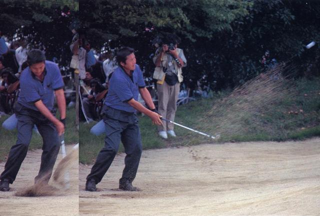 画像1: 【尾崎将司】ドライバーもウェッジも、上から下ろしてタテに振り抜く