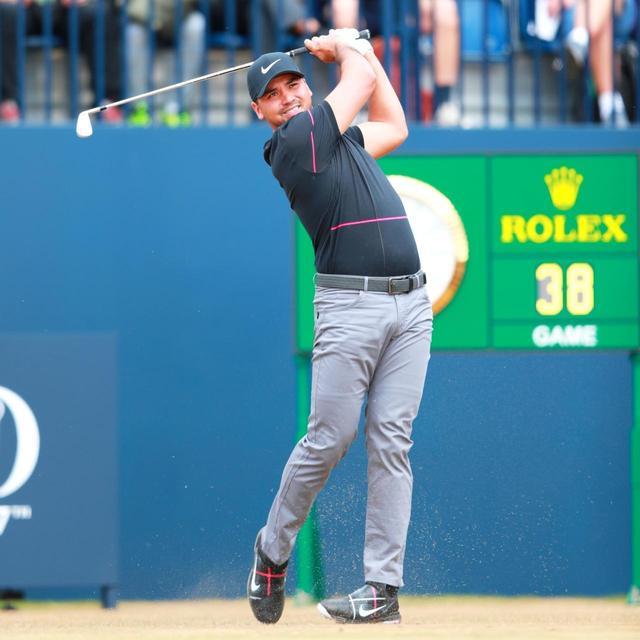 画像: ジェイソン・デイは体全体がしなって見えるダイナミックなスウィング。若干力みがある分、フィニッシュで右肩がやや高くなるが、動きはオーソドックスで参考になる