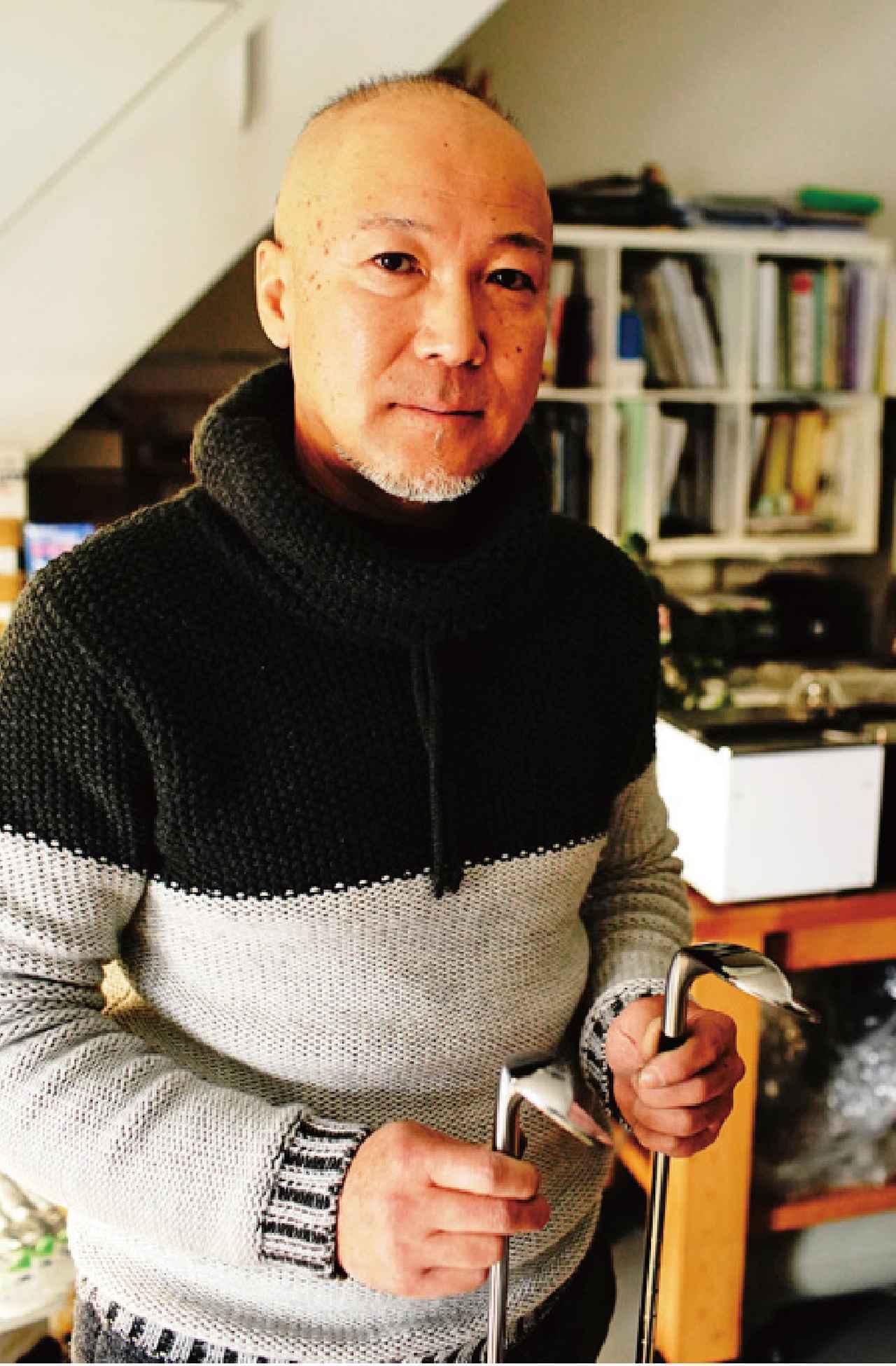 画像: 【削り/平野吉純さん】 ひらのよしずみ。兵庫県川西市で「ワークランドゴルフクラブデ ザイン」主宰。あらゆるゴルファーの悩みに応えてくれる職人