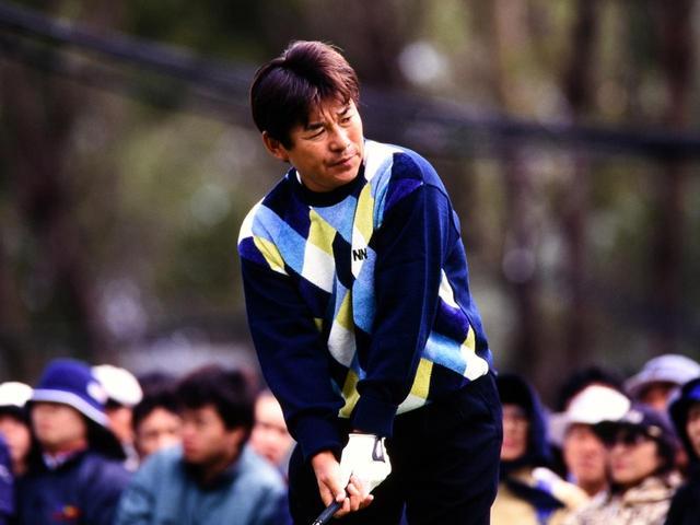 画像: 各選手がスコアを崩すなか我慢のゴルフを続けた尾崎直道