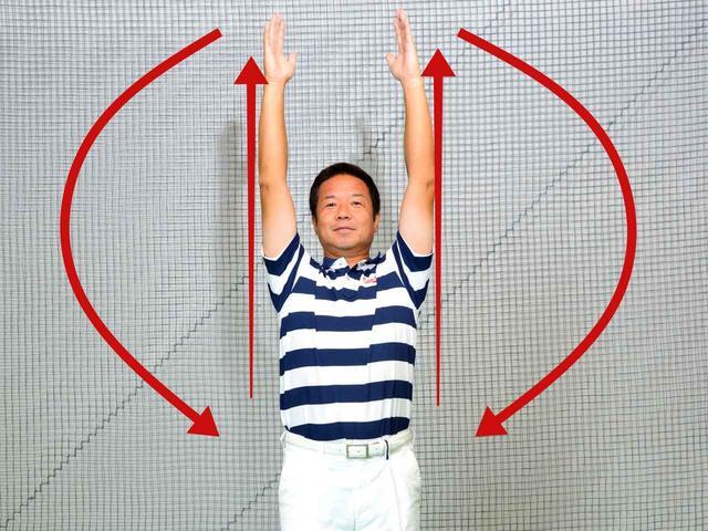 画像1: ラジオ体操第一、さっそくスタート!!