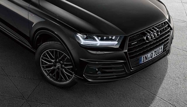 画像: シングルフレームグリル、ホイールなどフロントまわりをブラックで統一。マトリクスLEDヘッドライトがボディカラーに映える