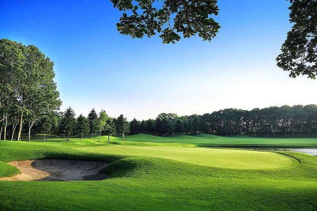 画像: 北海道クラシックゴルフクラブ 14番ホール(385Y・P4)
