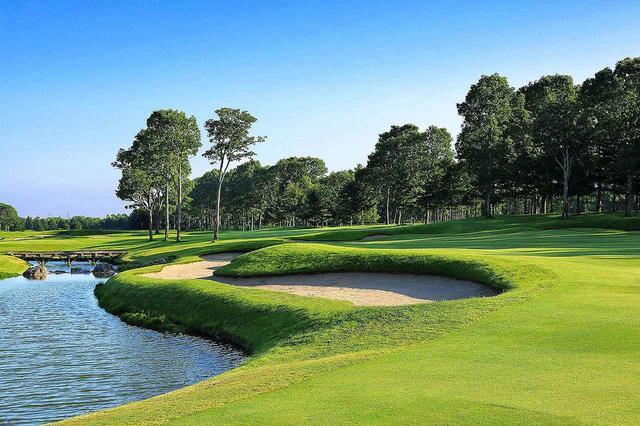 画像: 北海道クラシックゴルフクラブ 10番ホール(525Y・P5)