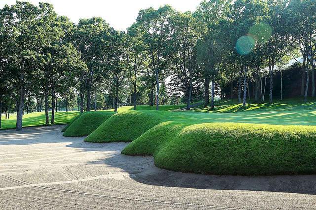画像: 北海道クラシックゴルフクラブ 9番ホール(357Y・P4)
